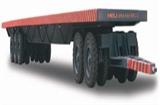 1-80吨平板拖车