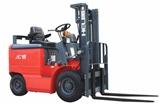 安徽1-1.5吨窄车身蓄电池叉车