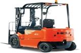 淄博3-3.5吨交流四轮平衡重式蓄电池叉车