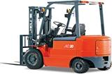 淄博1-2.5吨交流四轮平衡重式蓄电池叉车